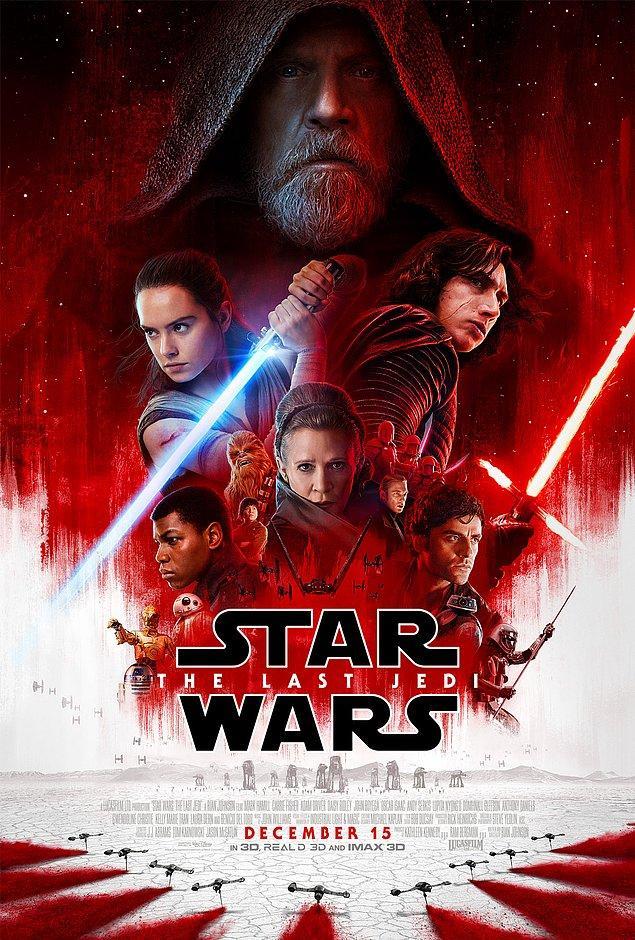 15. Star Wars Bölüm 8: Son Jedi