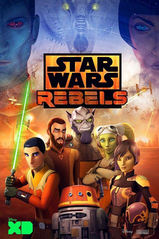 6. Rebels Animasyon Dizisi