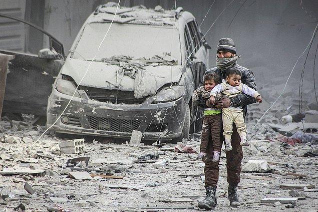 1. Suriye'de ateşkes ihlalleri. 📷 Diaa al Din