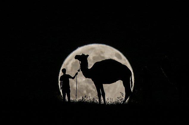 14. Parçalı ay tutulması. 📷 Ali İhsan Öztürk