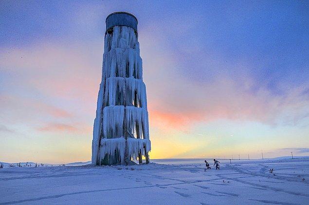 24. Buz kulesi. 📷 Özkan Bilgin