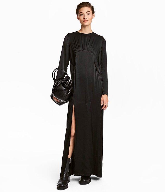 6. Siyah elbise
