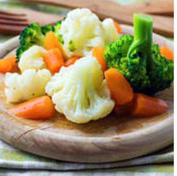 Haşlanmış sebzeler