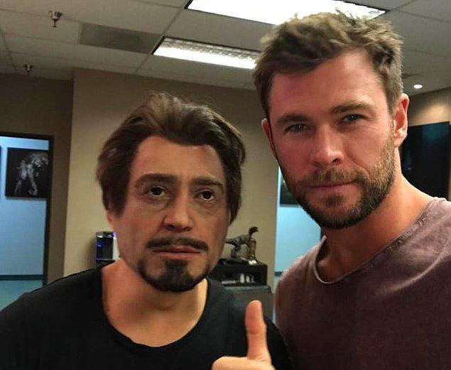 3. Robert Downey Jr'ın doğum gününde bu fotoğrafı paylaştığında 😂