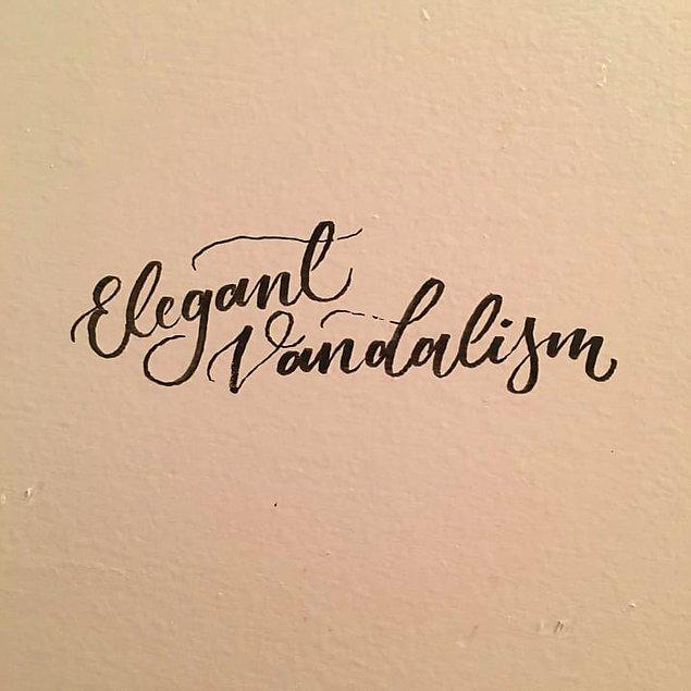 12. Böyle vandalizme can kurban.