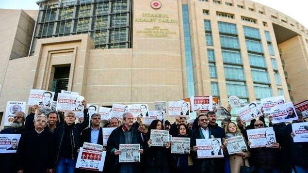 Genel Yayın Yönetmeni Murat Sabuncu, İcra Kurulu Başkanı Akın Atalay, gazeteci Ahmet Şık ve muhasebeci Emre İper, bugün bir kez daha hâkim karşısına çıktı.