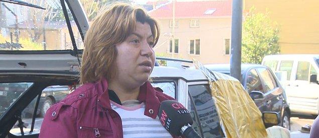 32 yaşındaki anne Ayla Atay, sokakta kalan ailesiyle tek başına ilgileniyor.