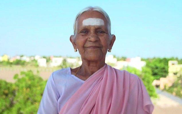 6. Nanammal Amma   98 yaşındaki yoga eğitmeni