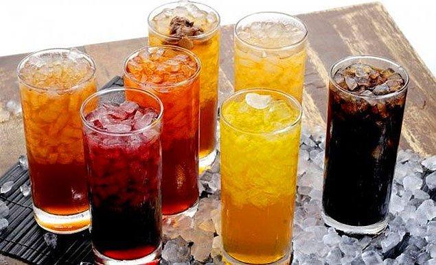 7. Sofranın belki de en çok seçeneğe sahip olan üyesi içecek.
