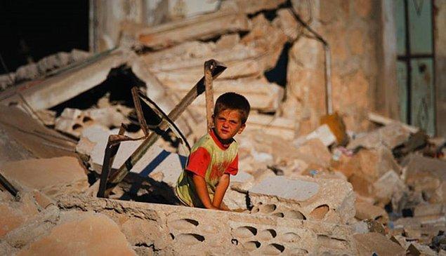 Unicef'in raporunda, Irak ve Suriye'de çocukların canlı kalkan olarak kullanıldığı, bazılarının da keskin nişancılar tarafından hedef alındığı belirtildi.