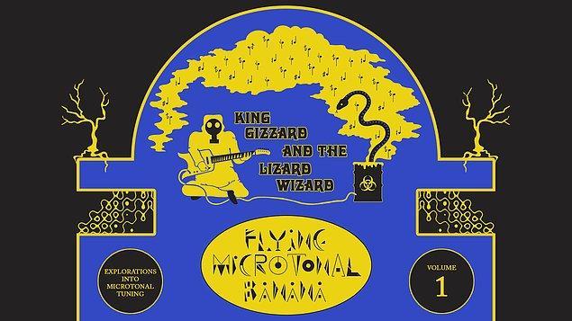 """Albümlerden """"Flying Microtonal Banana"""" isimli olanı bizim için ayrı bir önem taşıyor."""