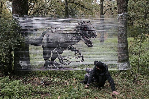 İşte o graffitiler: