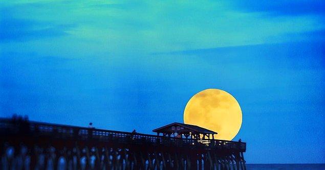 Bir sonraki Mavi Ay hadisesine çok var.