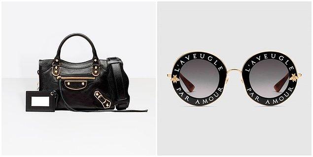 Melis'in kürk detaylı kabanı Zara, çantası Balenciaga, gözlüğü ise Gucci.