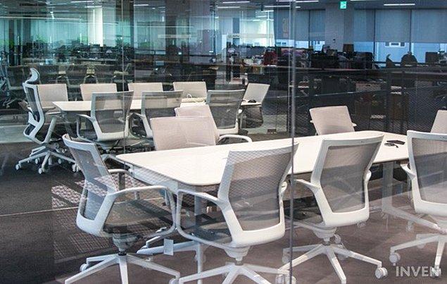 13. Yine toplantıların yapıldığı, küçük konferans odaları.