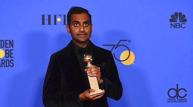 TV Müzikal/Komedi Dalında En İyi Erkek Oyuncu: Aziz Ansari