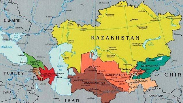 Orta Asya!