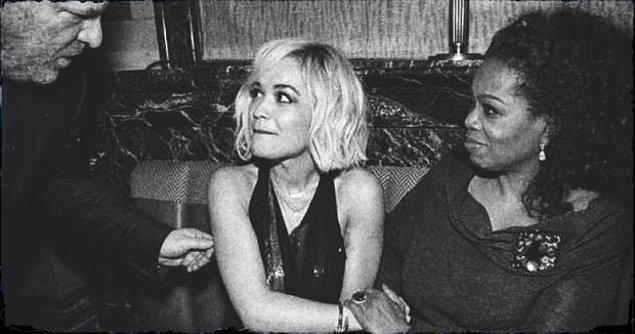 İngiliz oyuncu Kadian Noble, katıldığı basın toplantısında 2014 yılında Londra'da Harvey Weinstein ve koluna girmiş Oprah Winfrey ile tanıştığını anlattı.