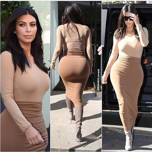 Kardashian s butt kim