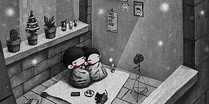 45 иллюстраций, показывающих, как выглядят отношения глазами влюбленной пары
