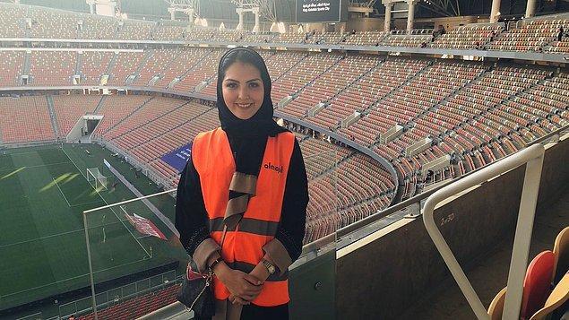"""Sarah Alkashgari: """"Suudi bir kadın olarak, bu bir maçtan fazlasıydı."""""""