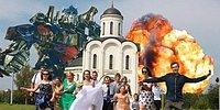 Эта беспощадная русская свадьба: шедевры свадебных фото в стиле легкого безумия