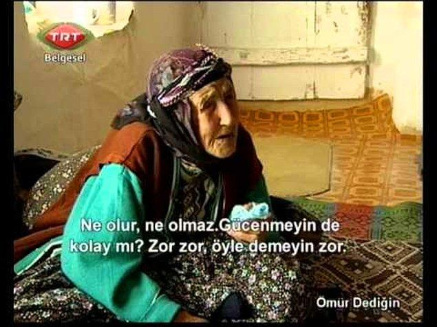 3. TRT'de yayınlanan 'Ömür Dediğin' isimli program da ne zaman denk gelinse izlenenlerden, çünkü geleceğimizi merak ediyoruz içten içe.