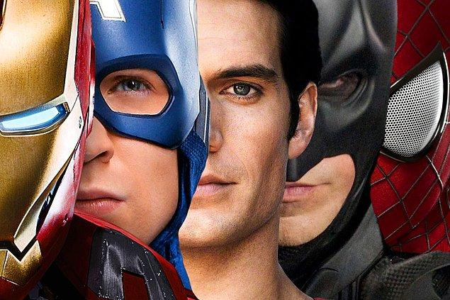 15. Örümcek Adam, Süperman, Batman, vb. süper kahraman filmlerini geçebilen var mı? Sanmıyorum ki olsun.