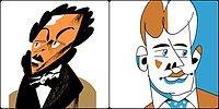 Тест: Только начитанный человек сможет узнать русских поэтов и писателей по их карикатурным портретам