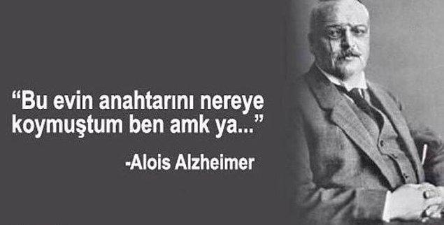 Alzheimer belirtileri..