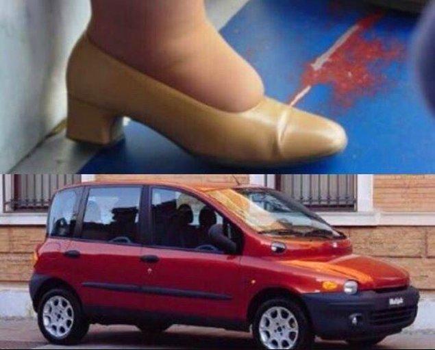 Araç modelinin ilham alındığı yer üstteki fotoğraf olmalı. :)