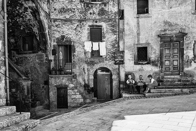 17. Scanno, İtalya