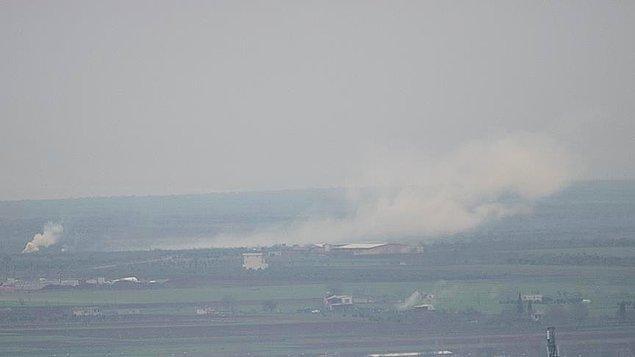 AA, TSK'nın Afrin bölgesinin doğusundaki Azez'den operasyon başlattığını duyurdu.