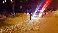 Лучший розыгрыш этой зимы: полицейские выписали штраф автомобилю из снега!