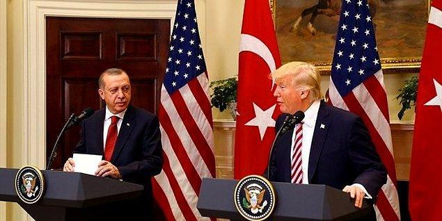 Cumhurbaşkanı Erdoğan, ABD Başkanı Trump ile telefonda görüştü.