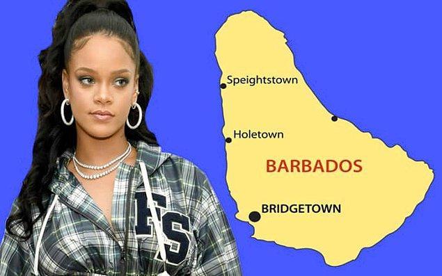 10. Rihanna, çocukluğunu Bridgetown, Barbados sokaklarında babasıyla kıyafet satarak geçirdi. 👊