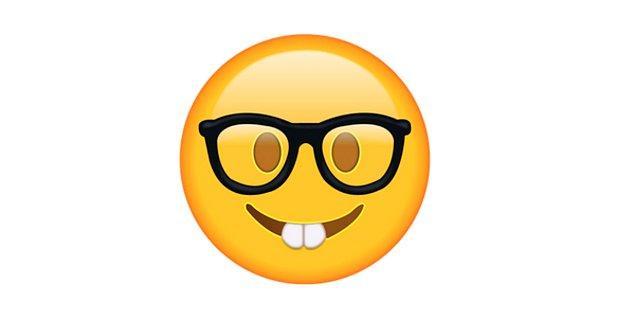 Sınıfın en çalışkan çocuğu emojisi!