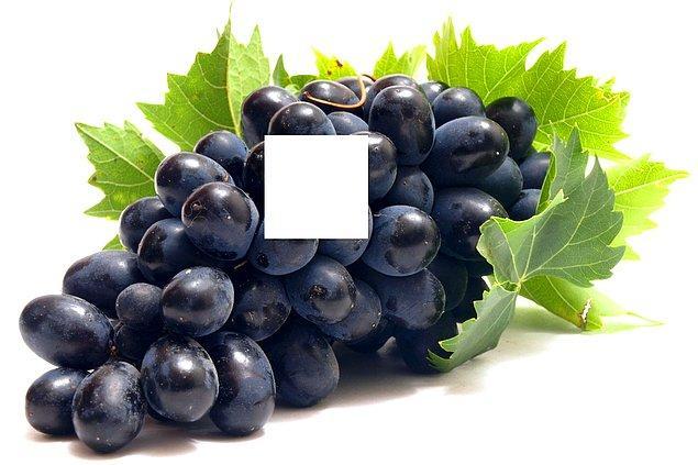 11. Bu üzümün eksik parçası hangisi?