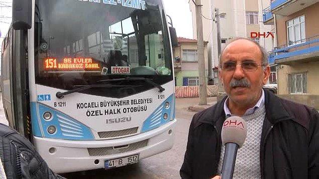 10. Kocaeli'de halk otobüsünü çalıp duraktan yolcu alan ve yolcuları istedikleri yere bırakan cins hırsız ve olayın şokunu atlatamayan şoför