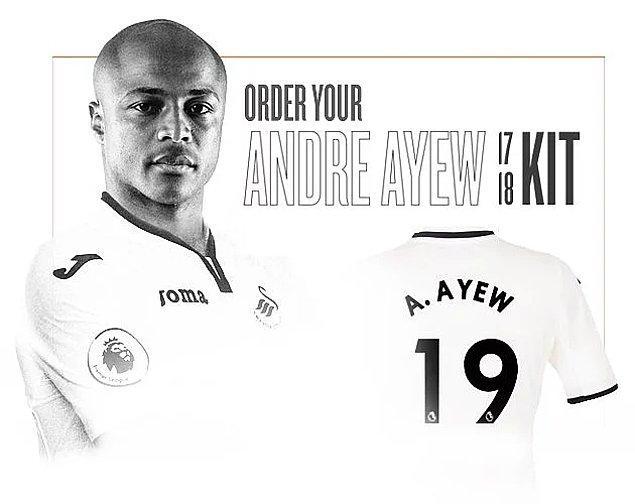 11. André Ayew: 22.8 Milyon Euro (West Ham ➡ Swansea)