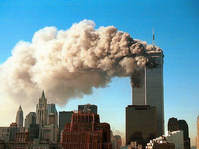 11. 11 Eylül saldırıların olduğu hafta ülke çapında 1000'den fazla insan hayatını kaybetti. Çünkü insanlar uçaktan korkup karayolunu tercih etti ve çok fazla sayıda trafik kazası yaşandı.