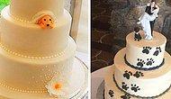 Пары изобрели новый тренд: включать своих собак в свадебные торты, и это ТАК умилительно!