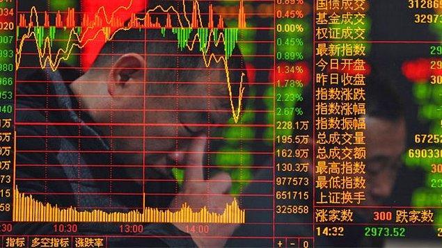 Panik satışlar dünyaya sıçradı. Japon Nikei endeksi yüzde 7'ye yakın geriledi ve 1990'dan bu yana en keskin düşüşünü yaşadı.