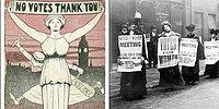 Оскорбительные открытки, которые суфражистки получали от своих недоброжелателей, или Цена права голоса
