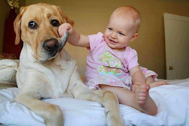 8. Bebeklerle, çocuklarla bir arada olmanın ve hayvanları sevmenin sağaltıcı etkisinden yararlanın.
