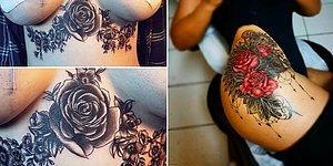 Совет всем, кто не знает, какую татуировку набить: делайте РОЗЫ!