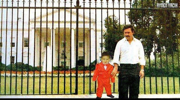 10. Escobar'a paralarını yaktıran