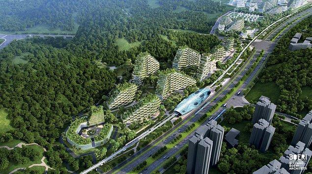 Kentin hava kirliliğine karşı olan duruşu ulaşım kanallarında da var. Liuzhou'nun hızlı treni elektrikle çalışıyor ve elektrikli araçlar için yolları var.