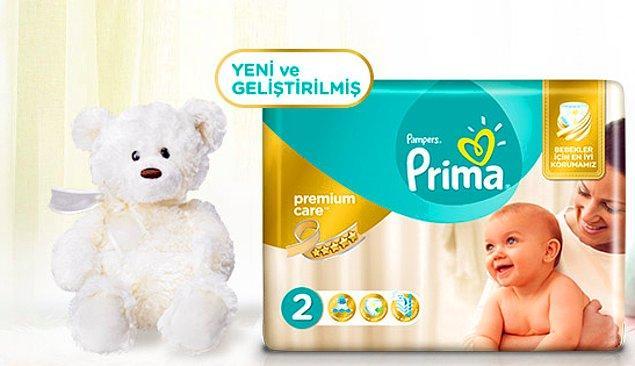2. Bir bebeğin en önemli ihtiyacı şüphesiz ki hassas cildini koruyacak, hava dolaşımı sağlayacak ve kuru tutacak bir bez...