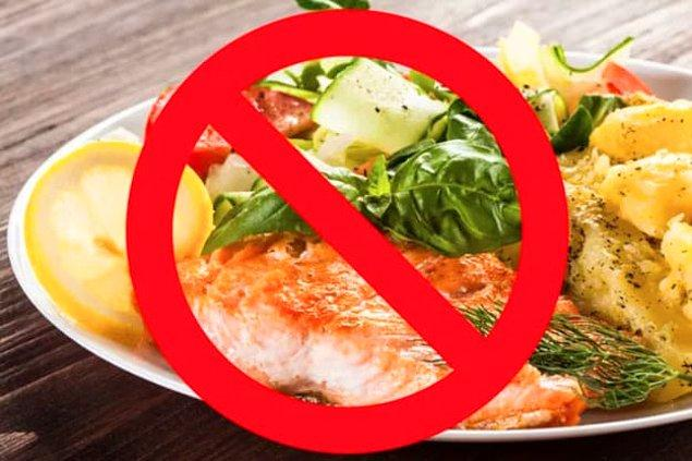 8. Son olarak bir yemeği sadece görüntüsünden dolayı yemeyi reddettiğin oldu mu?